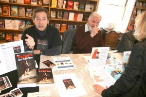 Book Signing at Sundance Books, Reno, Nevada, March 3, 2013